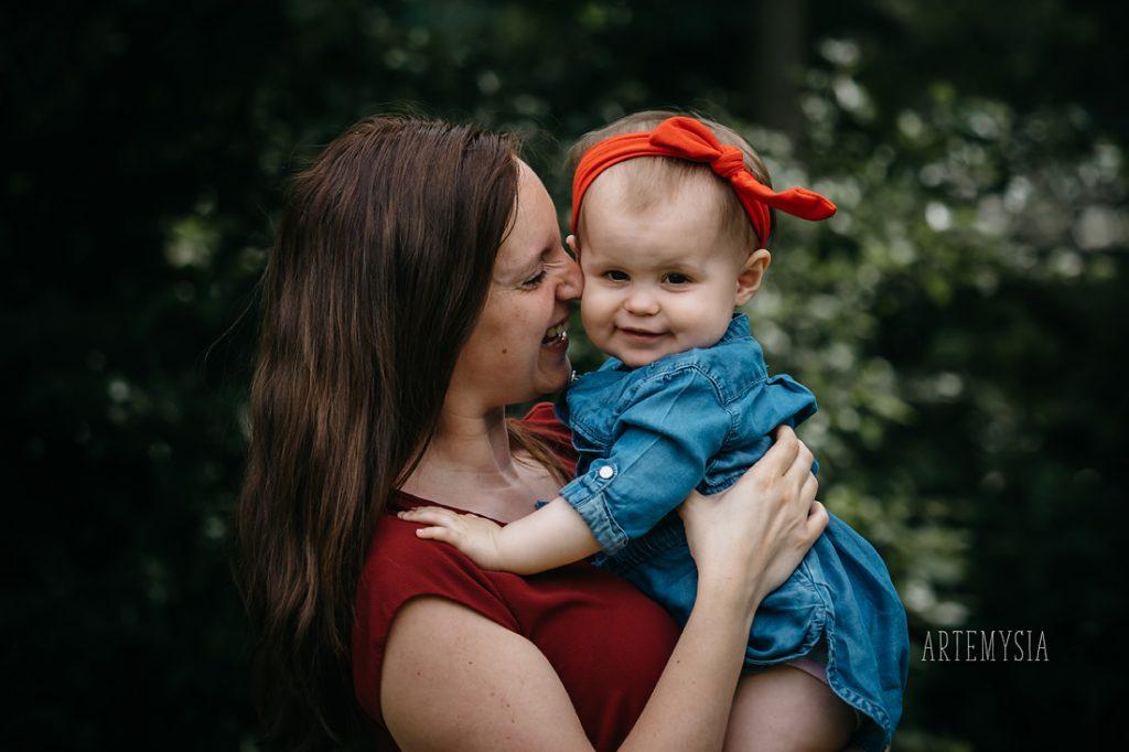 Artemysia mama en ik fotosessies